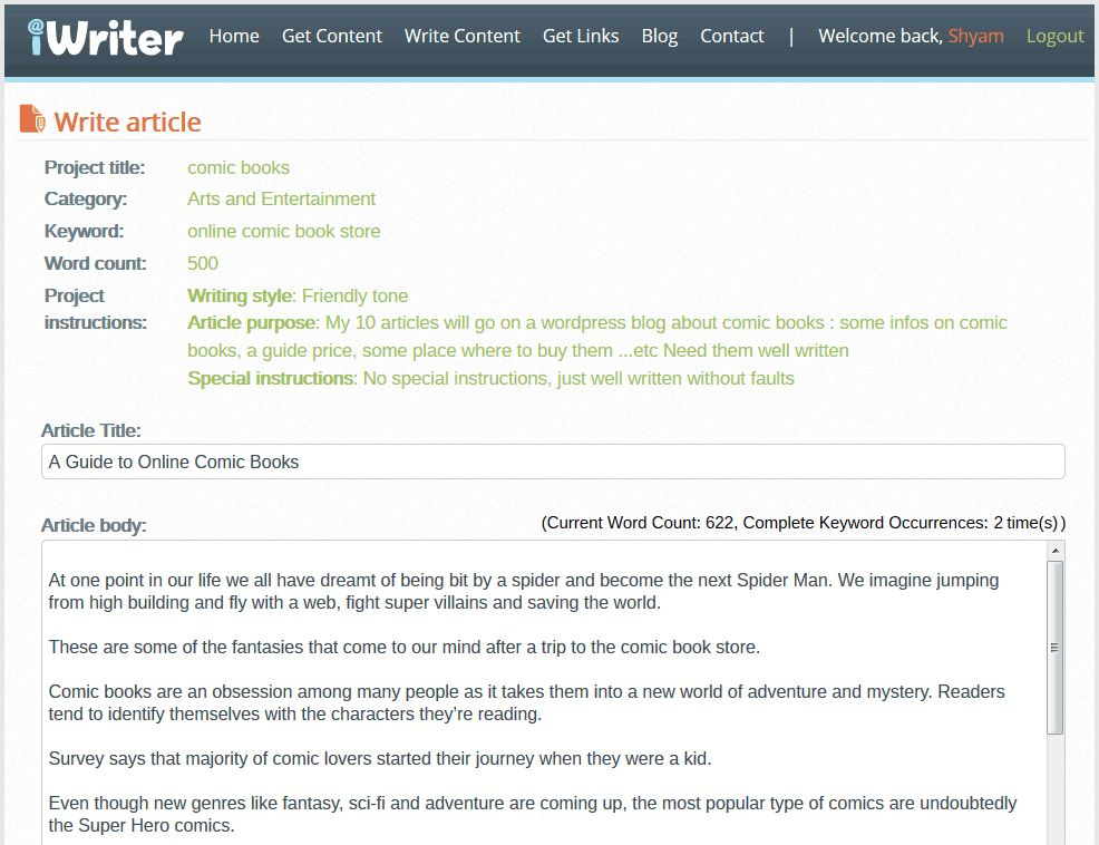 Write Articles & Earn Rs.22.5K through Content Writing Jobs
