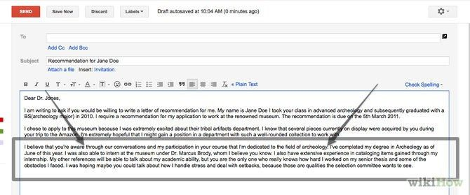 How To Ask Professor Write Letter Of Recommendation - Resume ...
