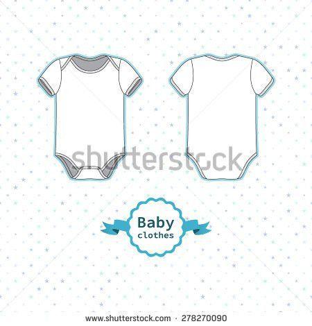 Clothing Set Blank Template Baby Bodysuit Stock Vector 278270090 ...