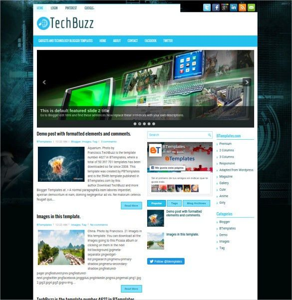 30+ Best SEO Blog Templates | Free & Premium Themes | Free ...
