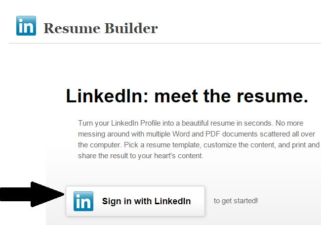 Chic Create Resume From Linkedin 13 Resume Builder Create A From ...