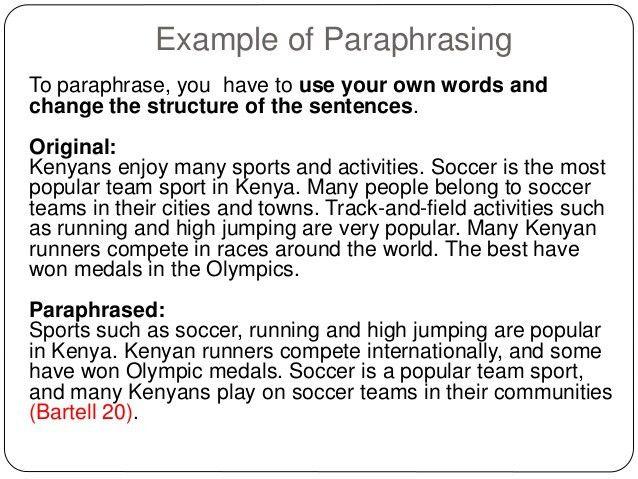 Paraphrasing in apa pepsiquincy.com