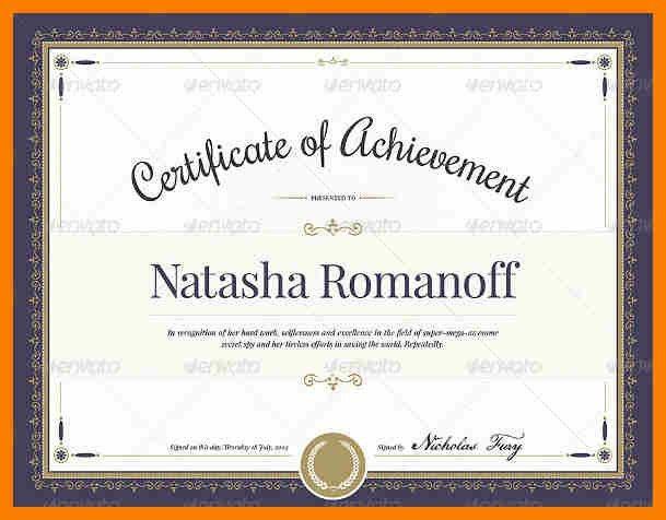 4+ certificate award sample | retail-resumes