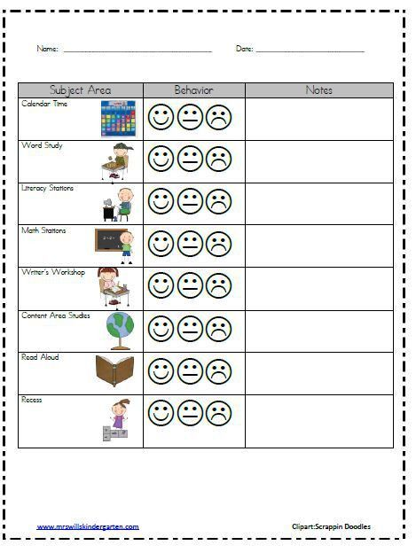 Best 25+ Individual behavior chart ideas on Pinterest | Classroom ...