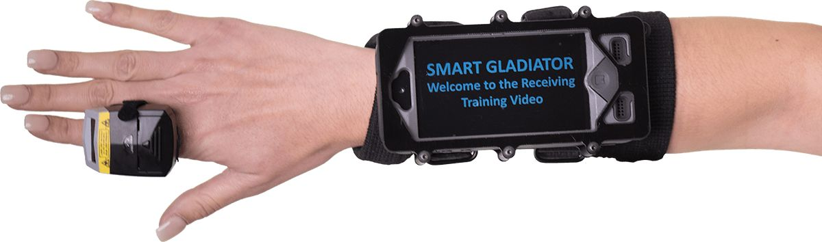 Smart Gladiator Wearable Terminal for Warehouse