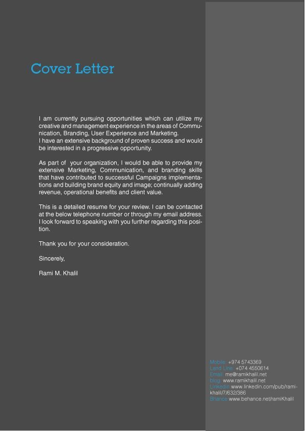 25 best Cover letter design ideas on