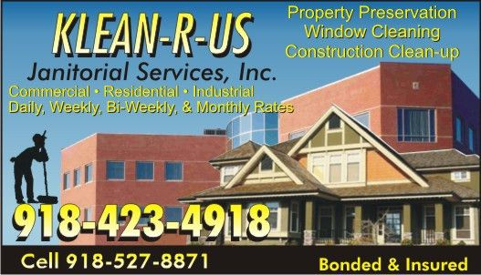 Klean-R-Us Janitorial Service Inc | Janitorial Services-Commercial ...