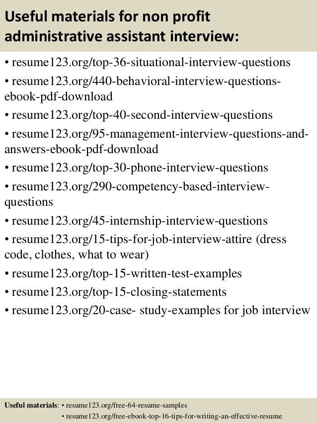non profit professional resume. sample resume. sample resume ...