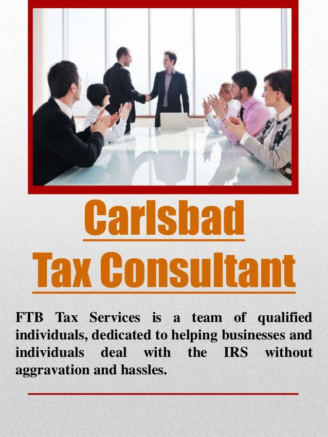 Carlsbad tax consultant