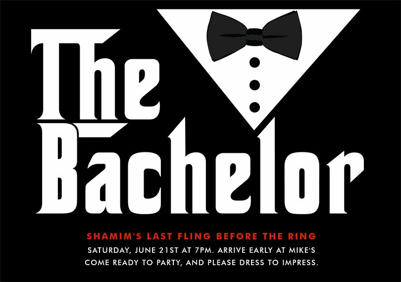 Email Online Bachelor Party Invitations that WOW! | Greenvelope.com