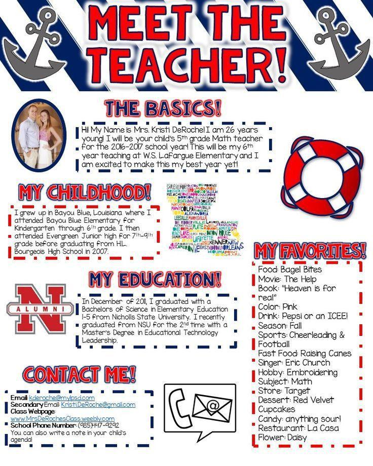 Best 25+ Teacher newsletter ideas on Pinterest | Class newsletter ...