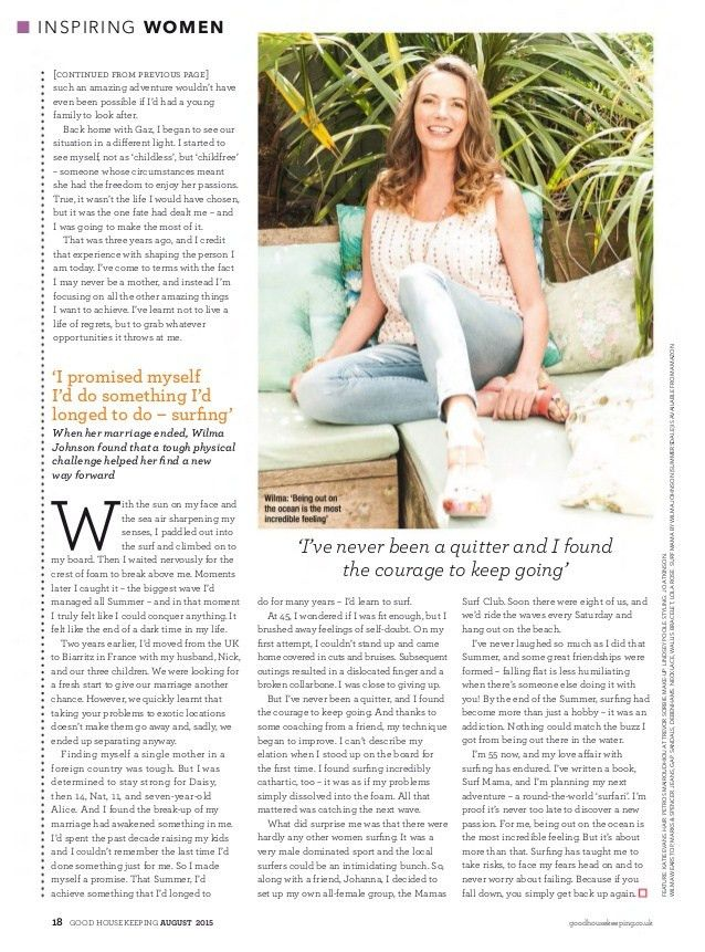Good housekeeping august 2015 uk