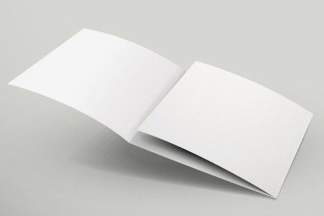 Free Blank 3 Tri-Fold Brochure Template Vector - TitanUI