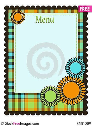 Spring Menu Template - Free Stock Photos & Images - 8551389 ...