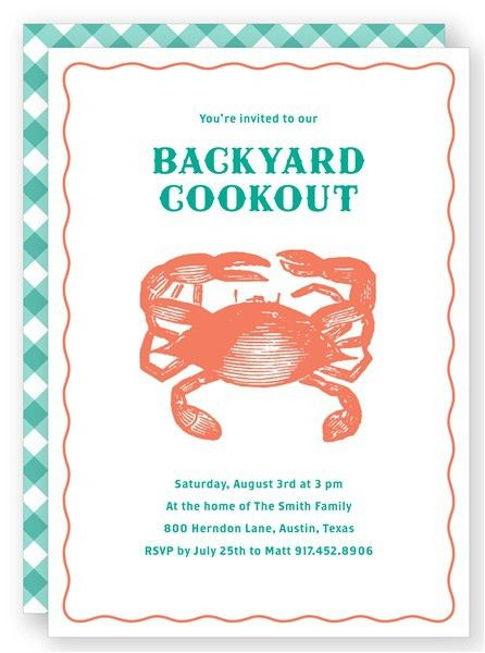 20 best Country Living Summer Party Invitations images on ...
