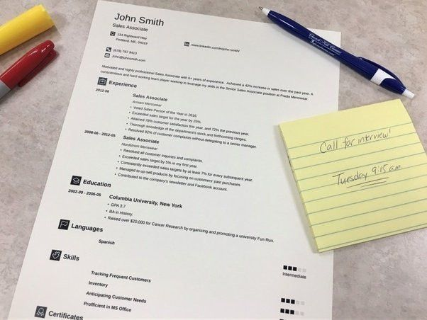 How to write a student resume - Quora