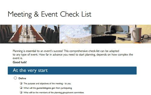 6 Free Event Planning Templates to Kickstart Your Week