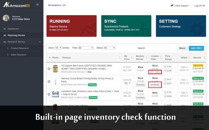 Amazonkit Inventory Checker :: Add-ons for Firefox