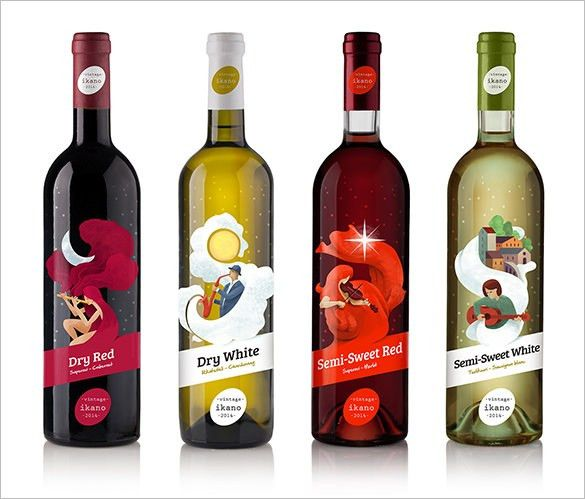 Wine Label Template - 24+ Free PSD, EPS, AI, Illustrator Format ...