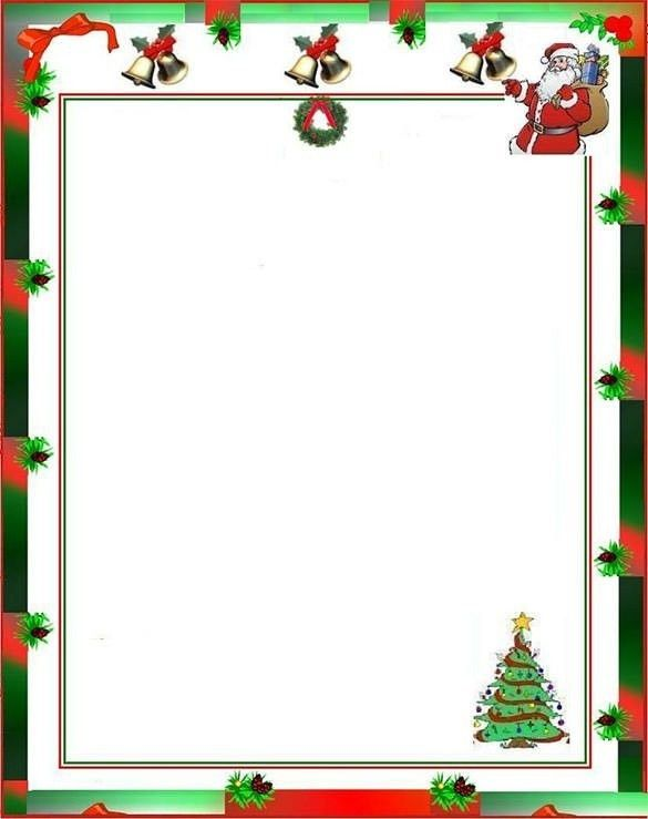 Christmas Letter Templates With Pictures | Business Template