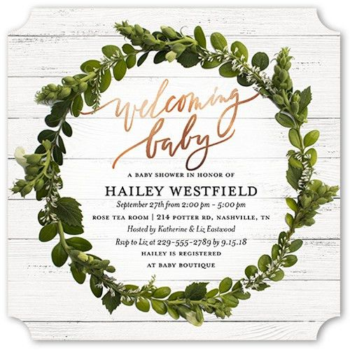 40 Easy Baby Shower Invitation Wording Ideas | Shutterfly