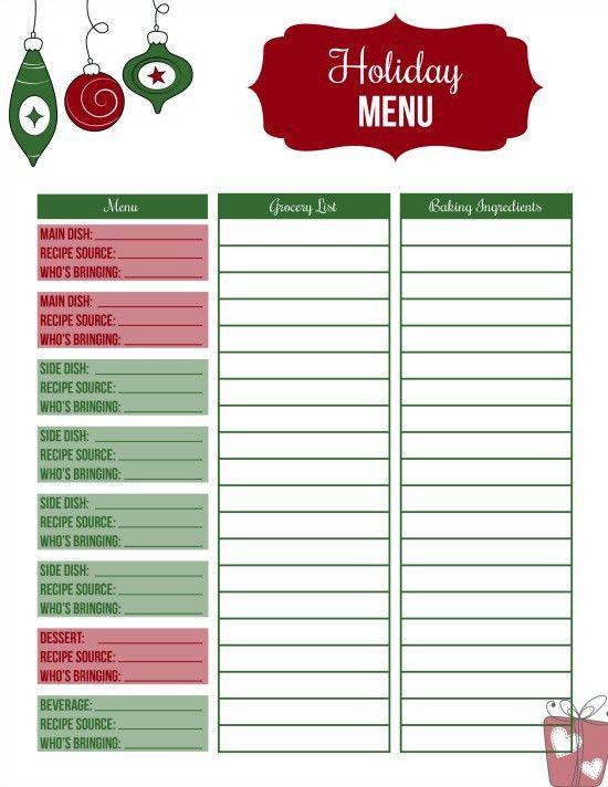 Christmas Dinner Ideas - Hoosier Homemade