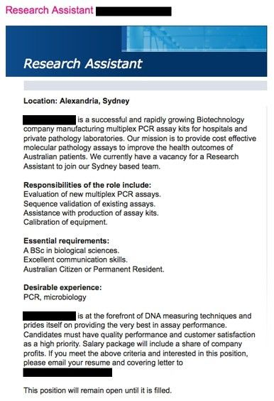 25 Cover Letter Template For Research Assistant Pertaining To ...