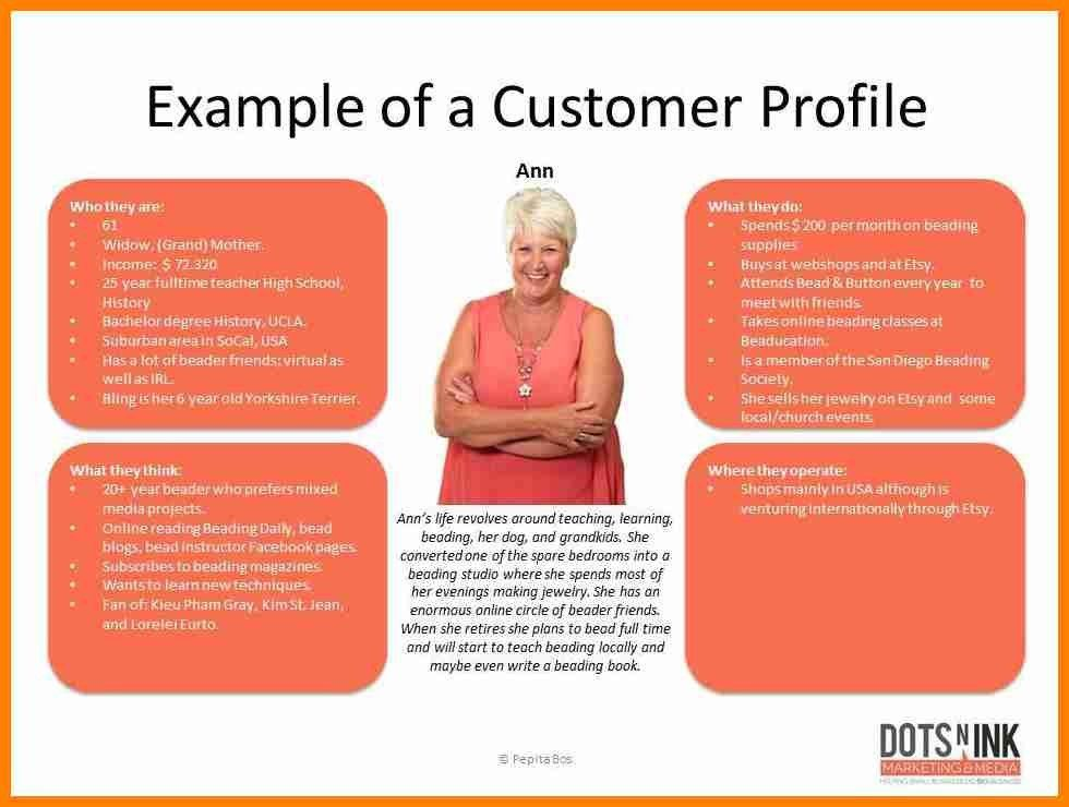 8+ customer profile examples | it cover letter
