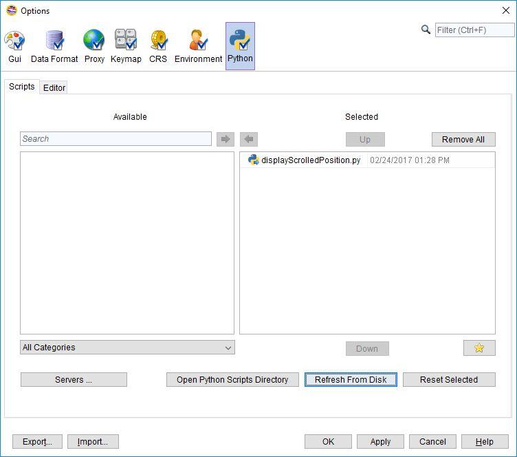Window Position Event Reactive Script Example - Scripting ...