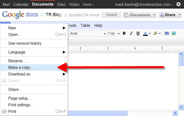 Yes you can make Google Docs templates but do you really want to ...