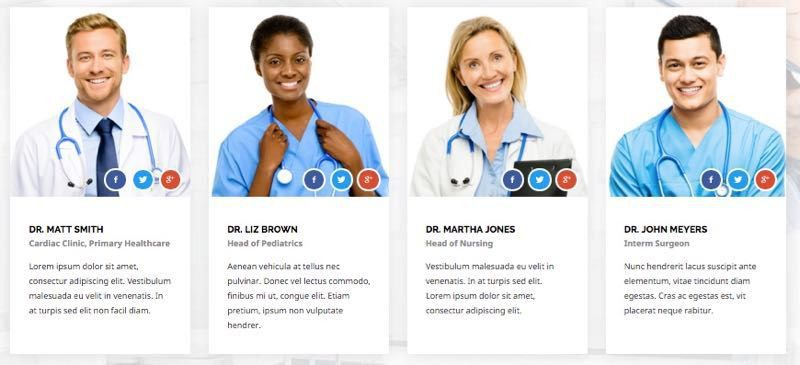 Health Guide Joomla 3.x Template for Doctors & Hospitals