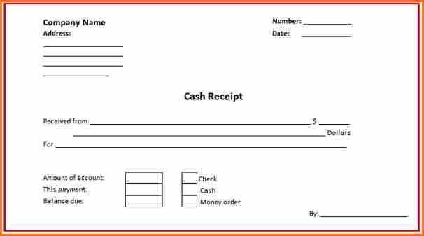 Lovely 7+ Down Payment Receipt   Budget Template Letter Idea Down Payment Receipt Template