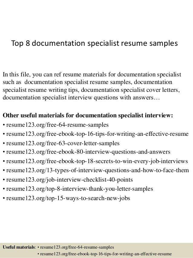 top-8-documentation-specialist-resume-samples-1-638.jpg?cb=1428549907