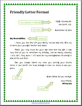 10+ example of friend letter | a cover letters