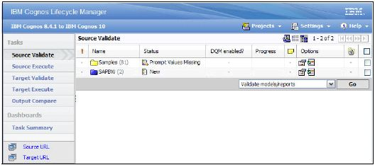 Moving to IBM Cognos BI version 10.1 from a previous release ...