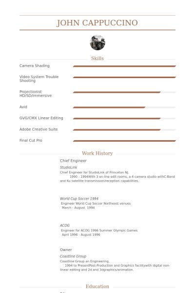 Download Chief Engineer Sample Resume | haadyaooverbayresort.com