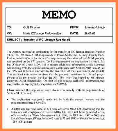 3+ internal memo format | Invoice Example 2017