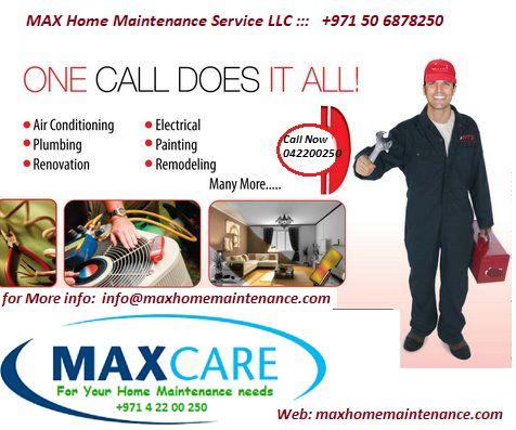 Villa Maintenance Packages in Dubai Villa Ac Repair Annual ...