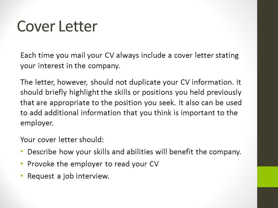 Download Should You Include A Cover Letter | haadyaooverbayresort.com