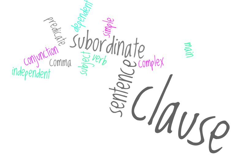 Writing Matters Topic #1: The Subordinate Clause « Writing Skills ...