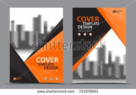 Yellow Color Scheme City Background Business Stock Vector ...