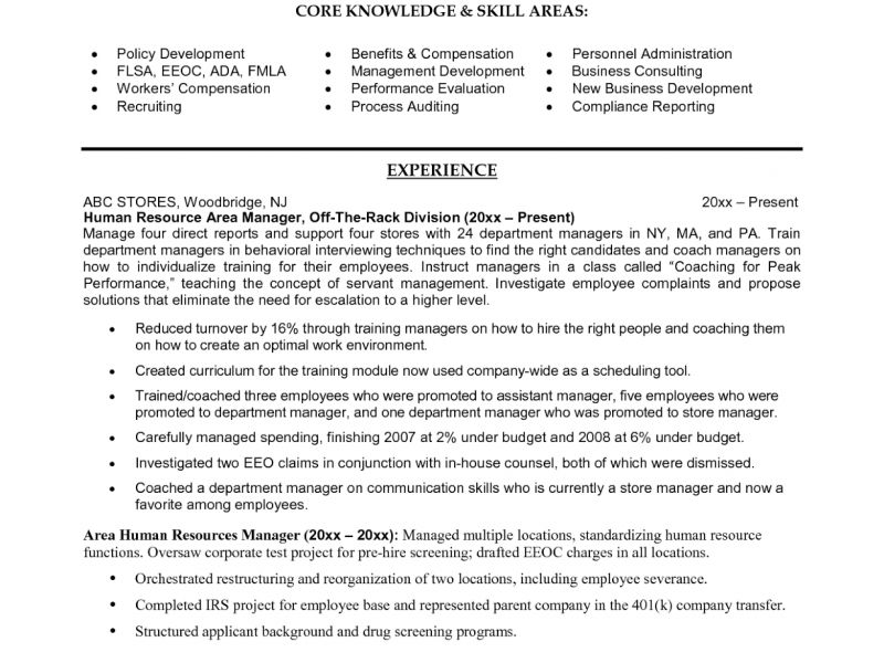Absolutely Smart Human Resources Manager Resume 9 Human Resources ...