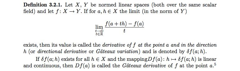 multivariable calculus - Counterexample for the Chain rule for the ...