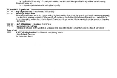lineman resume template free word documents download free resume ...