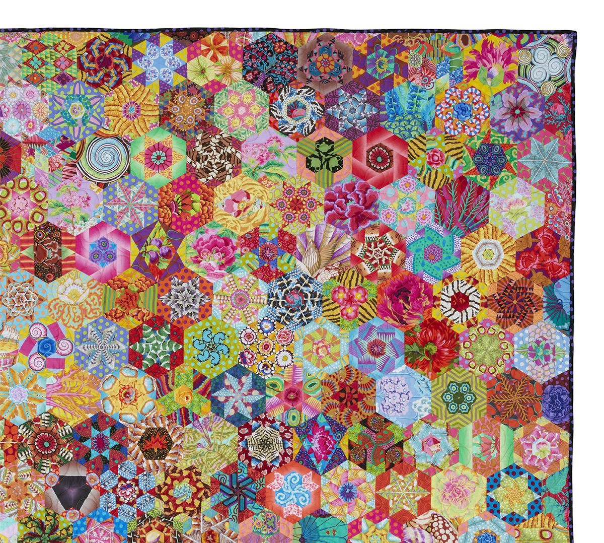 1000+ images about Quilty: Hexagon on Pinterest | Hexagon ...