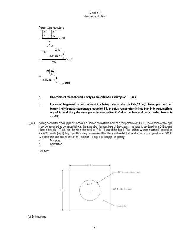Solution Manual - Heat Transmission - 3rd Edition - William McAdams
