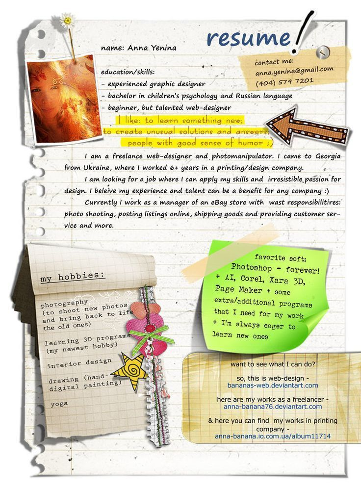 30 best Resumes: The Best Ones images on Pinterest | Resume ideas ...