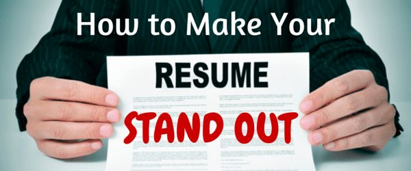 4 Rules for a Stand-Out Resume | CareerBuilder.ca