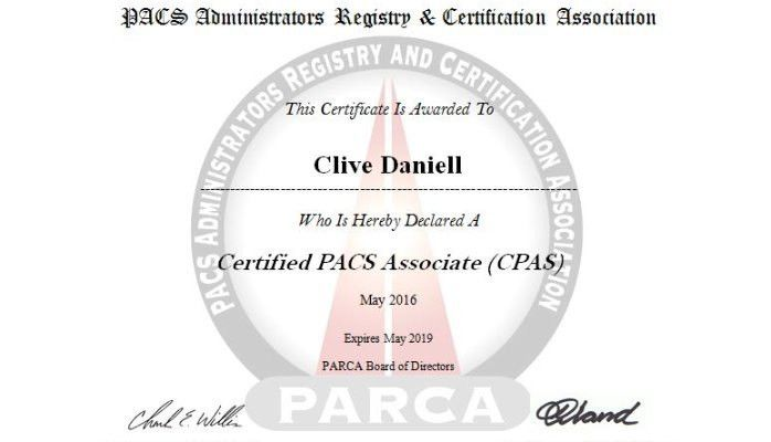 Which PACS administrator certification is best for South Africa ...