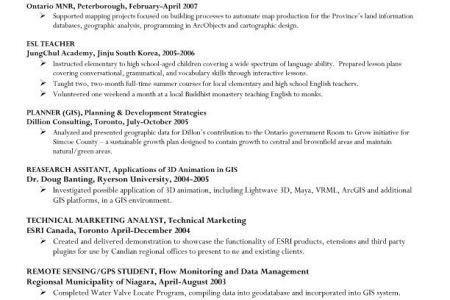 Example Information Systems Manager Resume Sample, Information ...